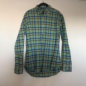Polo Ralph Lauren Custom Fit Plaid Oxford Shirt